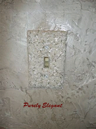 Purely Elegant Switch Plate by Turn It On Designs